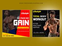 Fitness Body Social Media