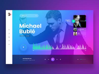 4b593727d3 Music Player - Website Concept