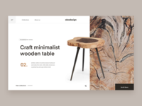 Wooden Furniture - Design Concept