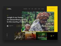 0469da38a3 National Geographic - Website Concept