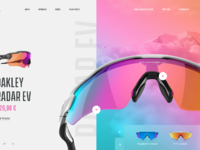 a1068f1c94 Oakley - Website Concept by Netflayo