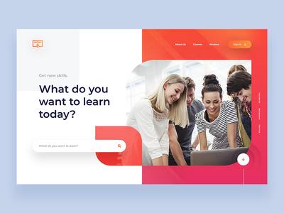On-line courses - Website