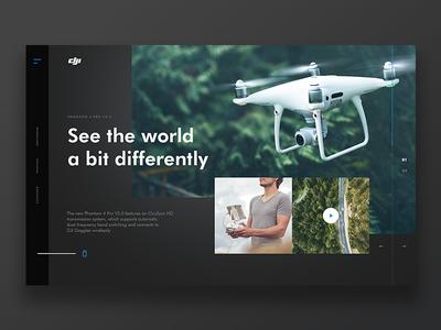 DJI - Website Concept
