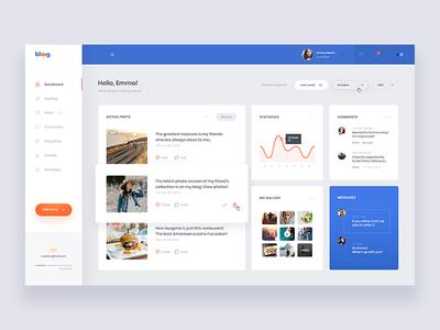 Blog - Dashboard