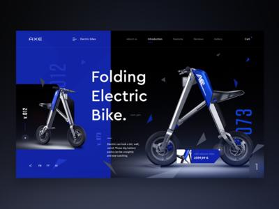 Axe Electric bikes - design concept