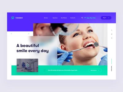 Colodent Dentist - Website