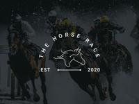 The Hourse Race | Logo Design | Graphic Design