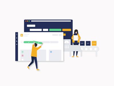 UI illustrations: Setting the standard in DevOps