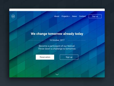 Landing Page | Daily UI #003