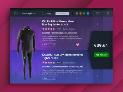 E-Commerce Shop  | Daily UI #012