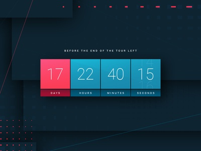 Countdown Timer  | Daily UI #014