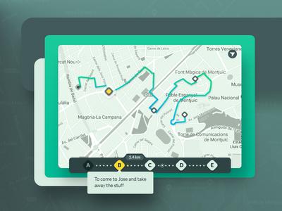 Location Tracker  | Daily UI #020