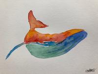 Fancy whale