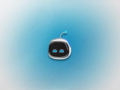 Astro Bot Enamel Pin temper tantrum geometric vector icon iconography pin enamel pins enamel pin ps5 playstation 5 astro bot