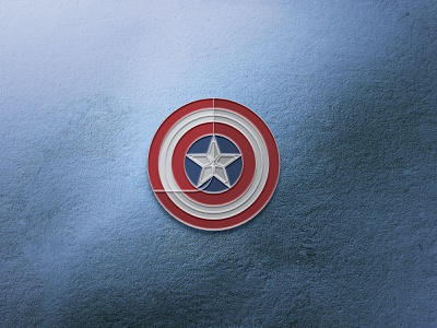 Captain America Shield Enamel Pin falcon and the winter soldier marvelstudios marvelcomics marvel iconography icons geometric vector pins enamel pin enamelpins enamelpin icon design iconset winter soldier falcon captain america