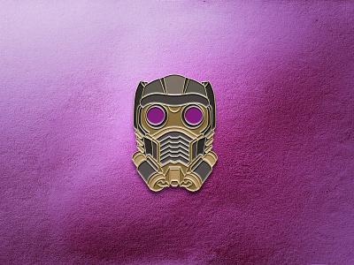 T'Challa Star-Lord Enamel Pin guardians of the galaxy ravagers icon design pins pin vector geometric iconography marvel studios disney marvel comics star lord what if pin design badge enamel pin wakanda tchalla marvel