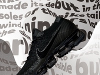 Vapormax Triple Black - White