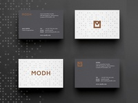 MODH Business Cards