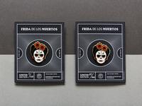 Frida de Los Muertos - Enamel Pin