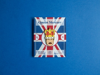 Queen Mercury — Enamel Pin