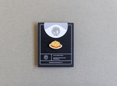 Portuguese Francesinha Enamel Pin