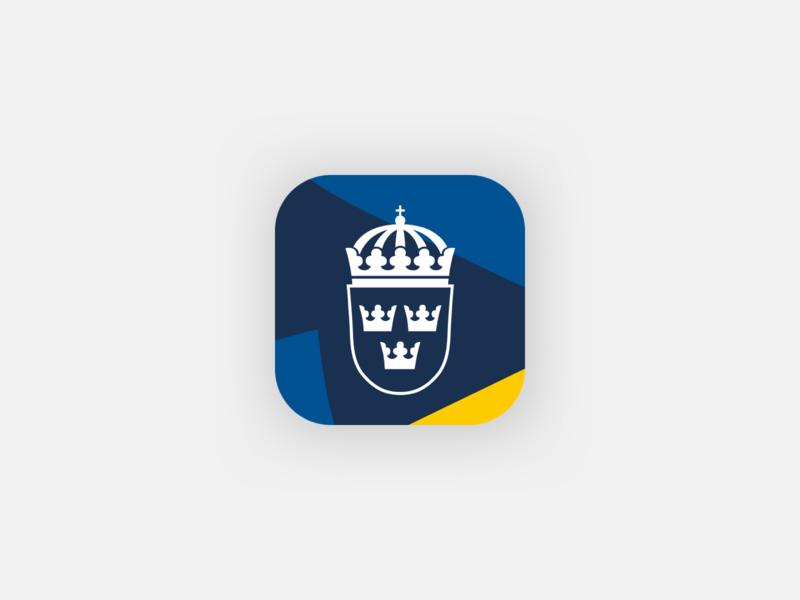 UD Resklar - App icon sweden branding logo app icon design app store icon app icon
