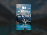 Wanderlust sign up original