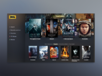 Daily UI #025 - TV App