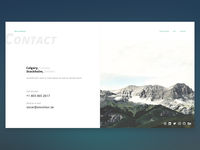 Daily UI #028 - Contact Us Page