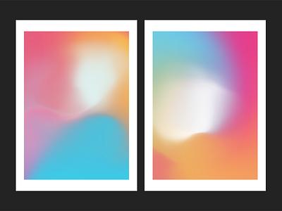 Fluid Gradient Posters abstract fluid gradients gradient poster