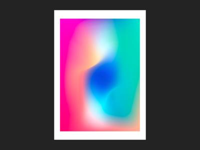 #2 Gradient flow abstract fluid gradient gradients poster flow