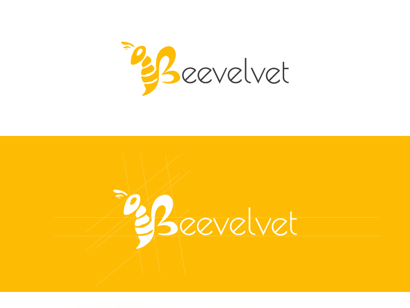 Beevelvet Logo Design design vector logo illustration logo design