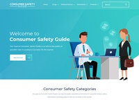 Consumer Safety Guide Website Design