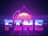 I'm really fine - 80's inspired