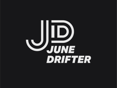 Logo a day 009 - June Drifter