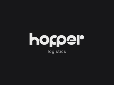 Logo a day 014 - Hopper Logistics