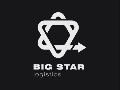 Logo a day 017 - Big Star Logistics