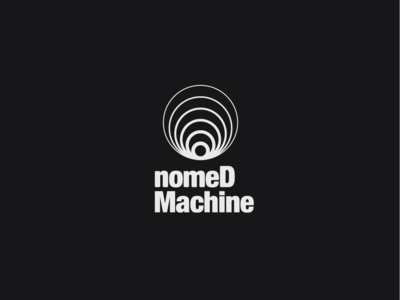 Logo a day 018 - Nomed Machine