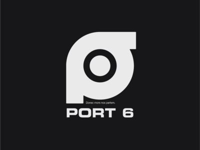 Logo a day 023 - Port 6