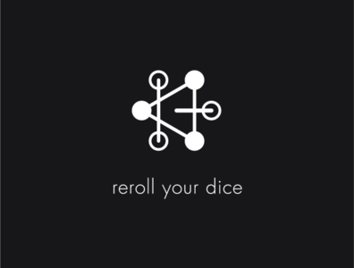 Logo a day 051 - Reroll Your Dice