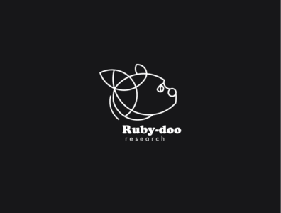 Logo a day 052 - Ruby-doo Research
