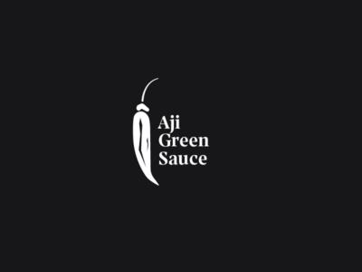 Logo a day 056 - Aji Green Sauce