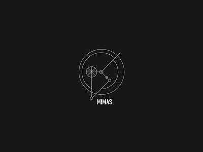 Logo a day 079 - Mimas exploration space moons icon designs icon inspiration icon design