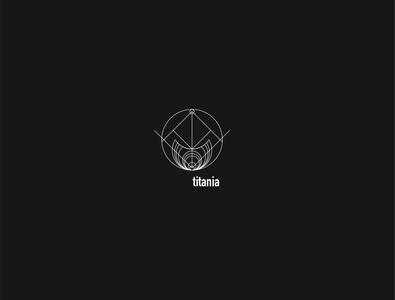 Logo a day 087 - Titania titania uranus everyday project logodesign moon logo minimal uidesign ui exploration space moon icon inspiration icon icon design