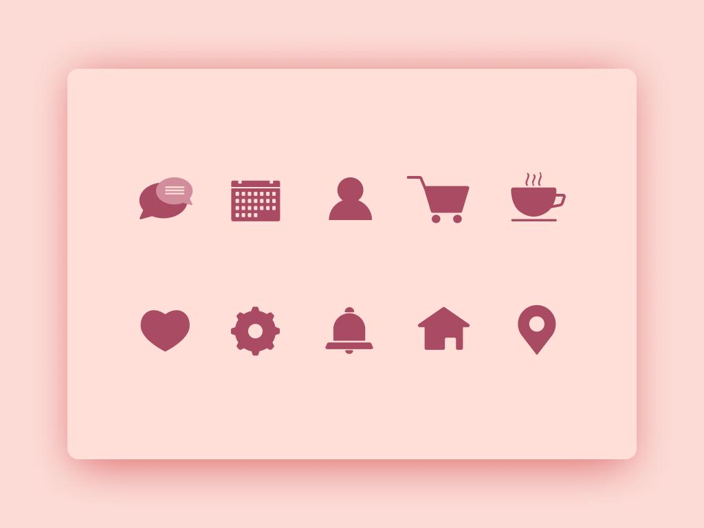 Essential Icons_S adobe illustrator graphic ui design icons