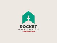 Rocket Mortgage Logo Redesign