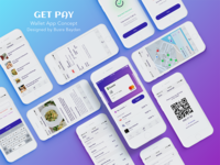 Get Pay - Wallet App Concept