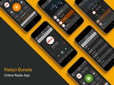 Online Radio designs, themes, templates and downloadable graphic