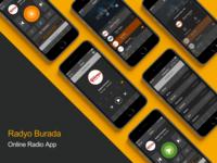 Radyo Burada: Online Radio App