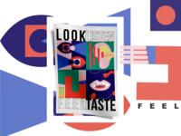 LOOK - LISTEN - FEEL - TASTE